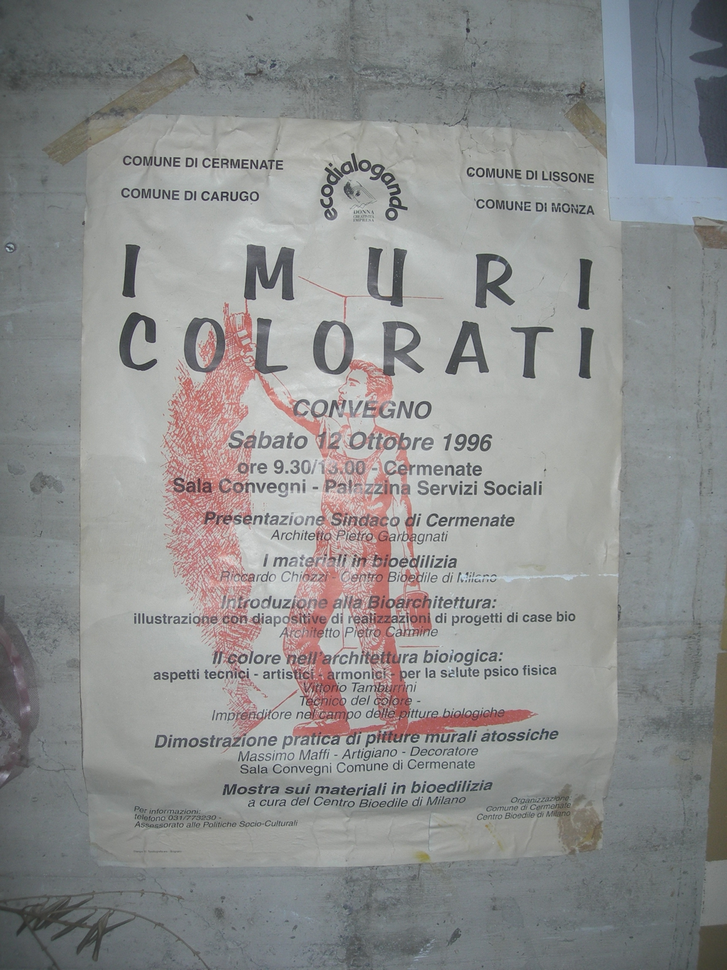 1996  I MURI COLORATI