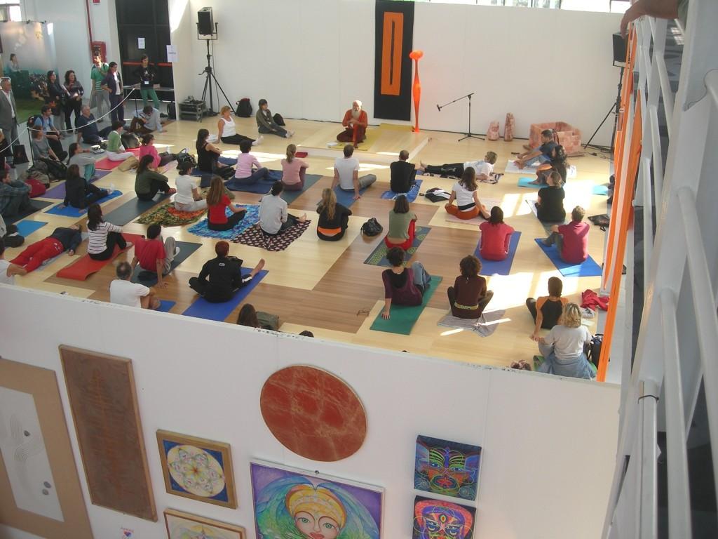 2009  Milano yoga festival