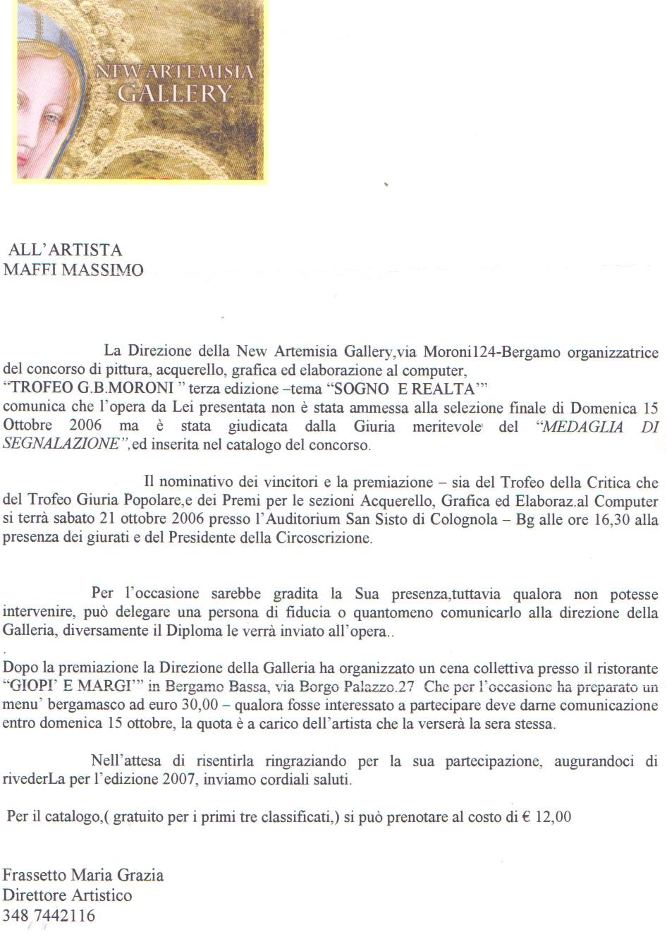 2006 Trofeo Moroni BG