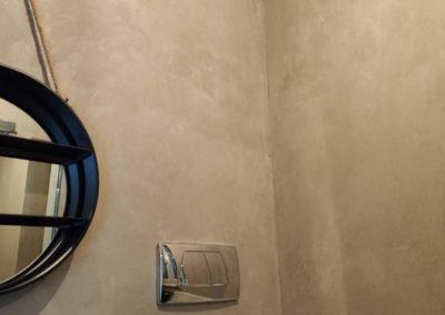 marmorino muro antico con scaglie mica