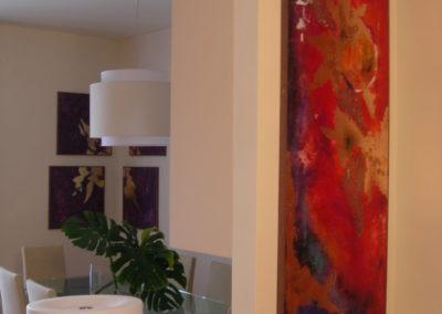 dipinti in abitazione privata